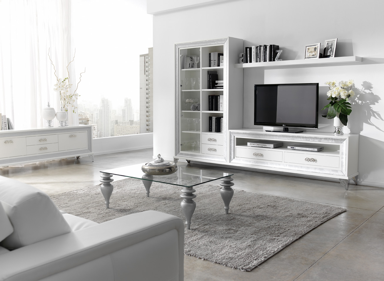 Sal n rom ntico muebles andaluc a for Muebles romanticos