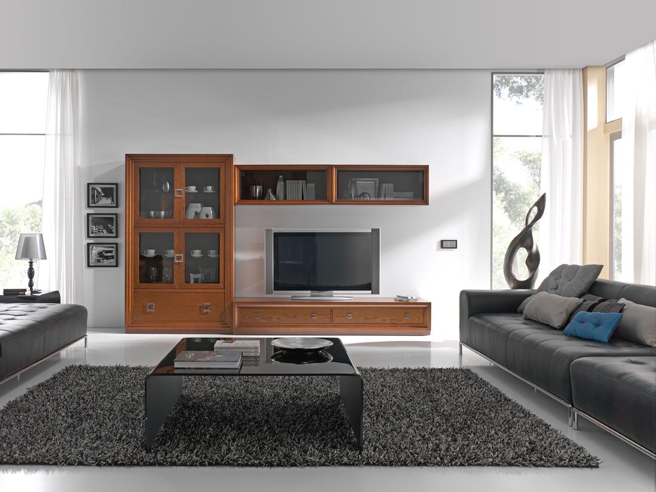 Salones y comedores estilo colonial muebles andaluc a - Salones estilo colonial moderno ...
