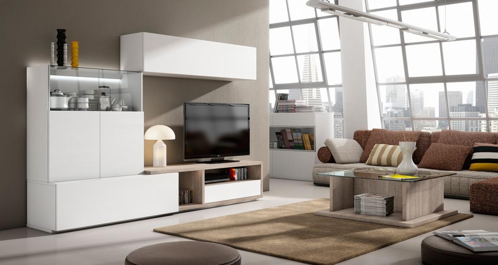 Salones y comedores estilo moderno muebles andaluc a - Salones estilo colonial moderno ...
