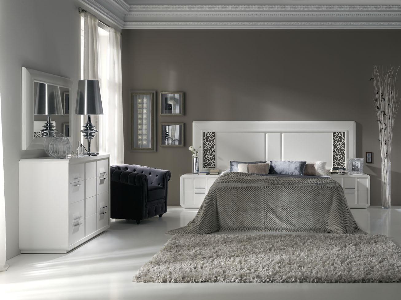 Dormitorios estilo moderno muebles andaluc a for Muebles estilo isabelino moderno