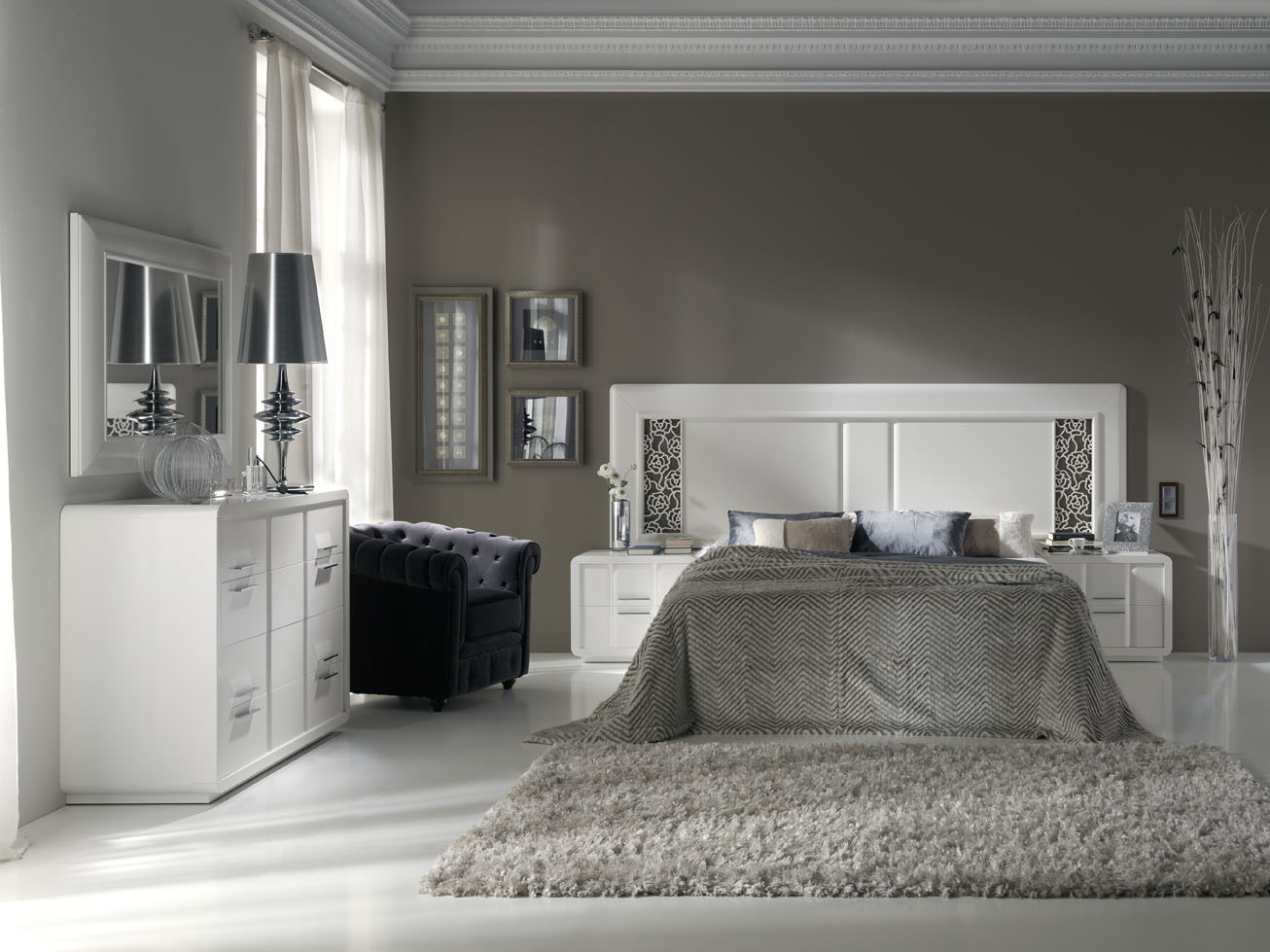 Dormitorios estilo moderno muebles andaluc a for Muebles andalucia cordoba