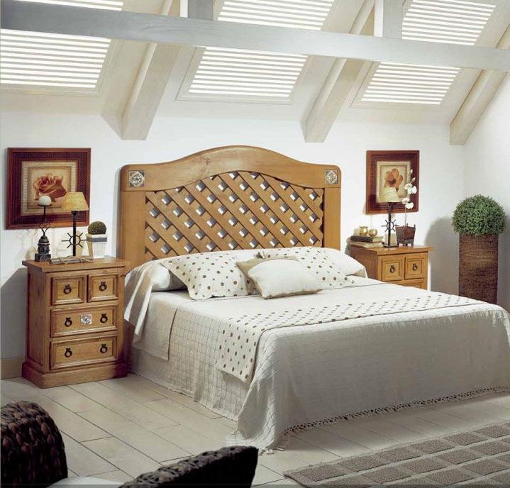 Dormitorios estilo r stico muebles andaluc a - Muebles estilo rustico ...