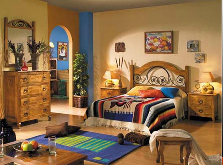 Dormitorios estilo r stico muebles andaluc a for Muebles estilo rustico