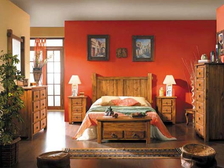Dormitorios estilo r stico muebles andaluc a for Dormitorio rustico