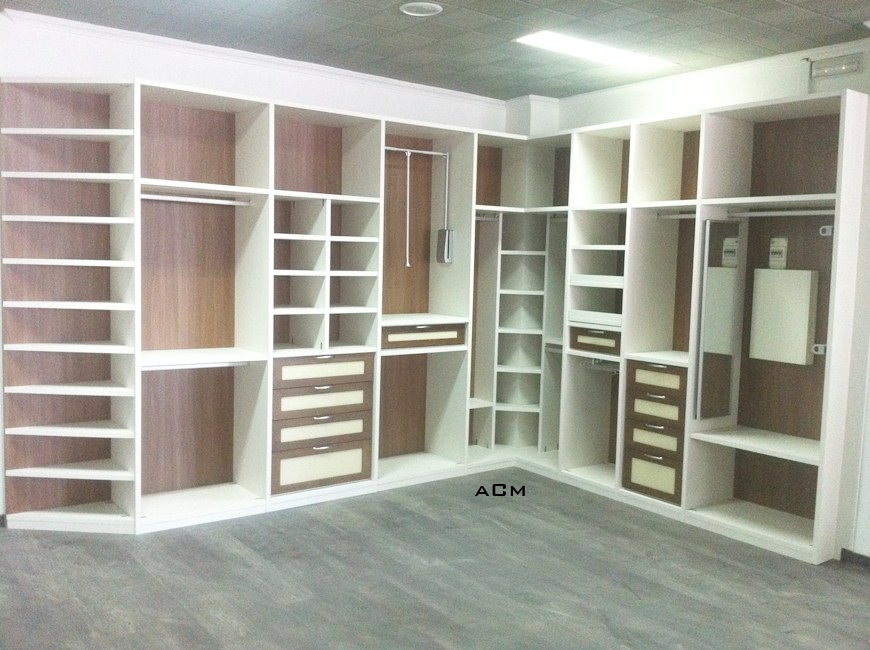 Interiores de armarios en esquina - Armario de esquina ...